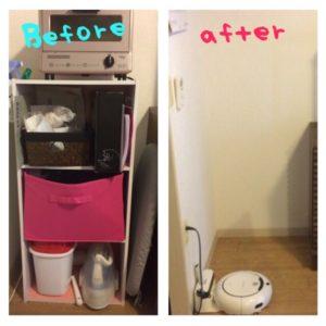 [ダイニング&キッチン公開]カラーボックスを撤去