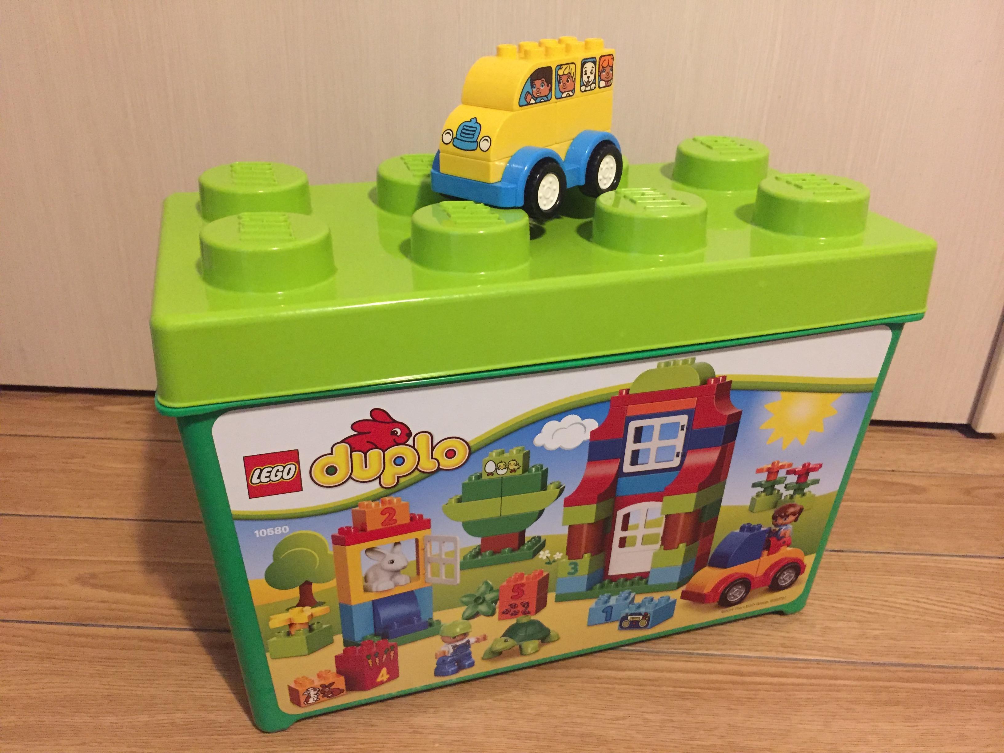 [1歳男の子と3歳女の子]誕生日プレゼントをレゴデュプロにした理由